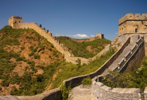 Vast Expanse of The Great Wall, Jinshanling, China