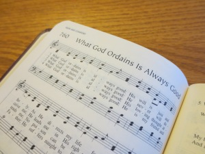a hymn of comfort